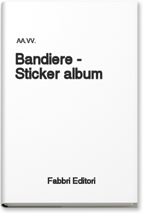 Copertina di: Bandiere – Sticker album