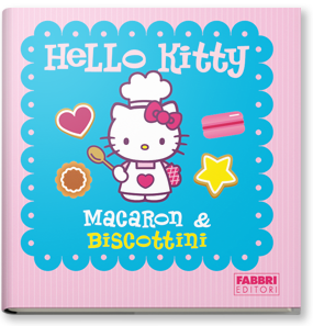 Copertina di: Hello Kitty cook'n'cube Macaron & Biscottini