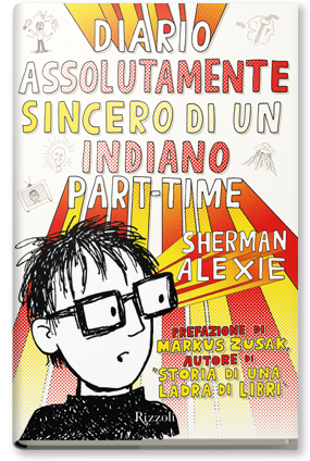 Copertina di: Diario assolutamente sincero di un indiano part-time