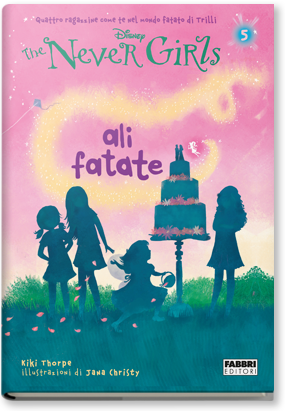 Copertina di: The Never Girl. Ali fatate