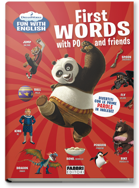 Copertina di: Dreamworks Fun with English. Let's Play with Po and Friends