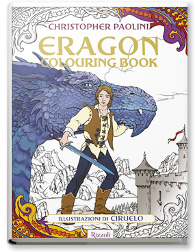 Copertina di: Eragon       Colouring Book