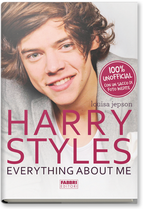 Copertina di: Harry Styles. Everything about me