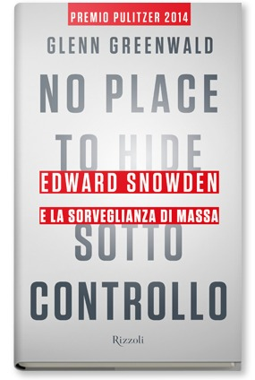 Copertina del Libro: No place to hide  – Sotto controllo