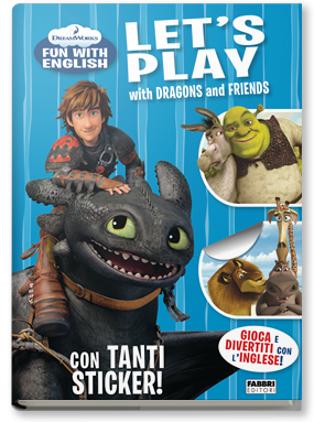Copertina di: Dreamworks Fun with English. Let's Play with Dragons and Friends