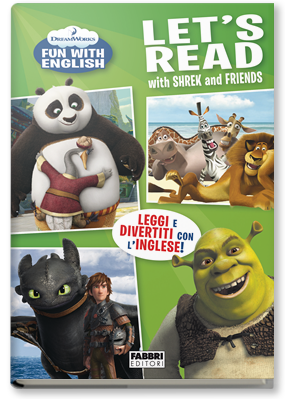 Copertina di: Dreamworks Fun with English. Let's Read with Shrek and Friends